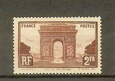 """FRANCE STAMP TIMBRE N° 258 """" ARC DE TRIOMPHE DE L'ETOILE PARIS 2F """" NEUF xx TTB"""