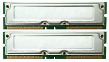 1GB 2 x 512MB PC800-40 RDRAM DELL 8250 RAMBUS RAM