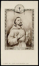 "santino-holy card""S.FRANCESCO D'ASSISI"