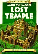 Usborne Cut-Out Models: Make This Model Lost Temple by Iain Ashman (1991,...
