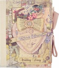 Vintage Wedding Planner Book (Diary/Journal/Organiser) Engagement gift-FREEPOST