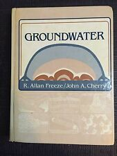 Groundwater by Freeze & Chery, 1979 edition, great condition