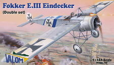 Valom 1/144 Model Kit 14414 Fokker E.III Eindecker (2 kits included)
