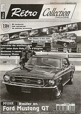 RETRO COLLECTION 50 ROULER EN FORD MUSTANG GT RENAULT FREGATE GRAND PAVOIS 1958