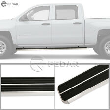 Fedar Side Step Running Board For Silverado/Sierra Pickup Crew Cab 2007-2016