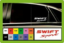 For SUZUKI SWIFT Sport -  2 x CAR DECAL STICKER  - 190mm long - Colour Choice!