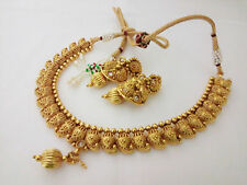 new indian fashion jewelry necklace bollywood ethnic gold plated traditional 121