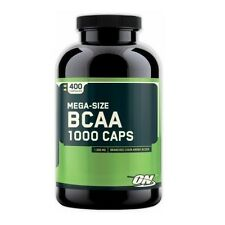 Optimum Nutrition BCAA 1000 mg Amino Acids 400 capsules EXP 02/2018