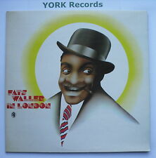 FATS WALLER - In London - Excellent Condition Double LP Record World SHB 29