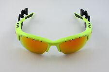 Oakley O Rokr Pro Bluetooth Fluoro Yellow Fire Iridium Xl Vented+Extras Iphone