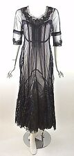 Nataya Titanic Dress Sale Steampunk Vintage Style Formal Evening Navy Blue NWT