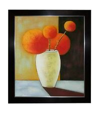 FRAMED STILL LIFE FLOWER OIL PAINTING SPECIAL FOR HOME DECOR AND KITCHEN DESIGN