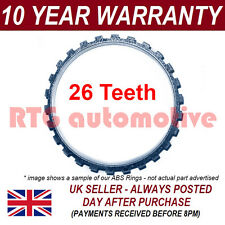 FOR RENAULT TWINGO MK1 MK2 26 TOOTH FRONT ABS RELUCTOR RING DRIVESHAFT CV JOINT
