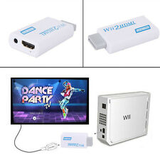 Wii To HDMI 720P 1080P Upscaling Converter Adapter with 3.5mm Audio Output Easy