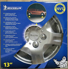 Michelin CUS12350 Wheel Trims 13 Inch with NVS Night Vision Security- Silver
