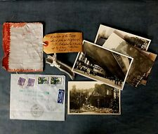RARE WWI. ZEPPELIN MEMORABILIA - L33, GRAFF  ZEPPELIN + SET OF PERIOD POSTCARDS