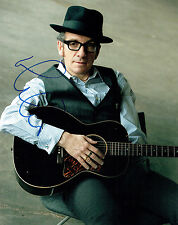 Elvis COSTELLO SIGNED Autograph Photo B Punk New Wave Music Singer AFTAL COA