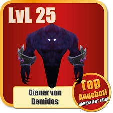 UE [] Wow PET * lvl 25 * sirviente de demidos * Servant of demidos * loot * mascota