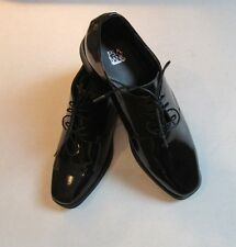 $155 New in Box Jos A Bank black patent leather shoe JAZZ size 8.5 M