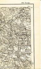 Rietschen Daubitz Hammerstadt 1893 kl. Teilkarte/Ln. Neuliebel Teicha Haide