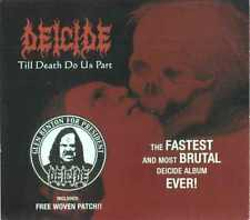 Deicide - till death do us part, Slipcase CD, lim. special edition + woven patch