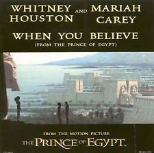 When You Believe (CD Single) Whitney Houston, Mariah Carey (Prince of Egypt)