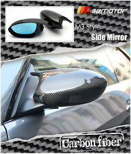 Carbon Fibre M3 Side Door Mirrors + Polarize Mirror for BMW E90 E92 E93 Pre-LCI