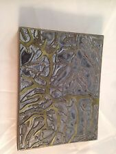 Letterpress Printing Printer Block Wood Metal New Mexico Santa Fe Ntl. Forest