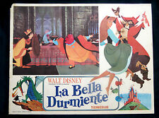 """SLEEPING BEAUTY"" WALT  DISNEY MEXICAN CLASSIC  LOBBY CARD 1959 REISSUE"
