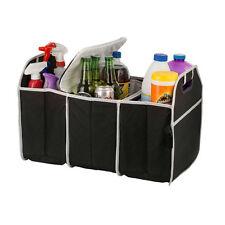 Folding Car Rear Trunk Organizer Flat Caddy Colth Storage Bag Holder Box