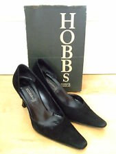 GORGEOUS HOBBS MARILYN ANSELM OPEN SIDE SUEDE COURT SHOES SIZE: 4 UK / EU 37