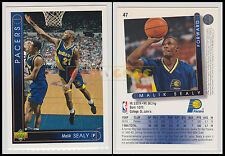 NBA UPPER DECK 1993/94 - Malik Sealy # 47 - Pacers - Ita/Eng - MINT