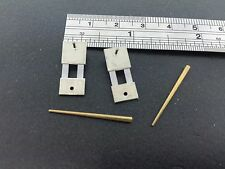 "Set of 2 Hermle  Clock Suspension Springs with pins size 11/16"" x 5/16"""