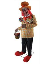 Spirit Halloween Life Size Animated Animatronic Figure Prop Uncle Charlie Clown