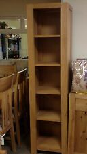 WILLIS AND GAMBIER TALIN OAK BOOKCASE, DISPLAY CABINET BRAND NEW IN BOX