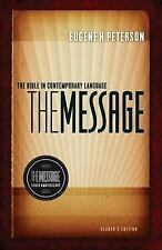 The Message : The Bible in Contemporary Language (2011, Hardcover, Anniversary)
