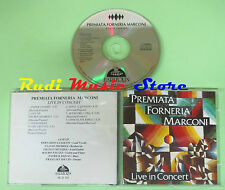 CD PFM PREMIATA FORNERIA MARCONI Live in concert HARLEQUIN (Xi1) no lp mc dvd