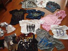 WHOLESALE LOT 10 Music ROCK BEATLES SHIRTS SHIRT BOUTIQUE WOMENS JUNIORS 'NEW'