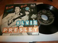 """elvis presley""""rock and roll n°5""""ep7""""fr.rca area lbl.noir.1ére press= DR."""