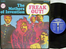 FRANK ZAPPA & THE MOTHERS - Freak Out LP (RARE 2nd US STEREO Pressing on VERVE)