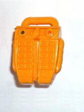 WETSUIT Brazil Mission~ Orange AIR BACKPACK~ Gi Joe Parts~ Vintage 1986 v1 or v2
