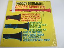 WOODY HERMAN & HIS ORCHESTRA ~ GOLDEN FAVORITES ~ Factory Sealed Vinyl LP