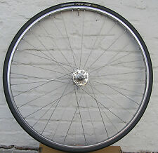 Campagnolo Hi-Lo Hub 'Delta Strada XL Chromium' Alloy Clincher Rim 130mm/7 WHEEL