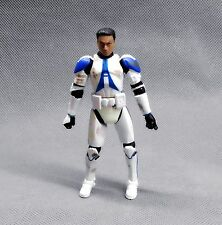"HASBRO Star Wars  the clone wars CLONE TROOPER COMMANDER ACTION Figure 3.75"" #j3"