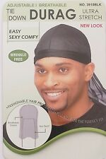 Magic Collection amarre Durag ULTRA ELÁSTICO Ajustable/transpirable no 3910BLK
