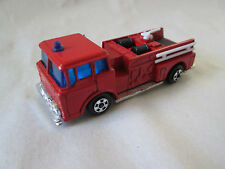 Zee Toys Zylmex Red Fire Engine Pumper Foam Truck P337 Hong Kong MINTY