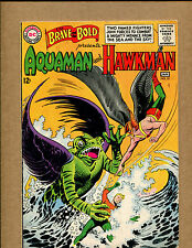 Brave and the Bold #51 - Aquaman and Hawkman - 1964 (Grade 5.5) WH