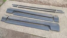 USED 1988-1991 Honda CR-X CRX - Side Moulding / Side Skirt - 6 Piece - NO CLIPS