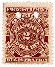(I.B) Canada Revenue : Quebec Registration $2