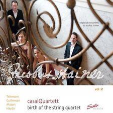 CASALQUARTETT - BIRTH OF THE STRING QUARTET VOL.2 CD NEU TELEMANN/MOZART/HAYDN